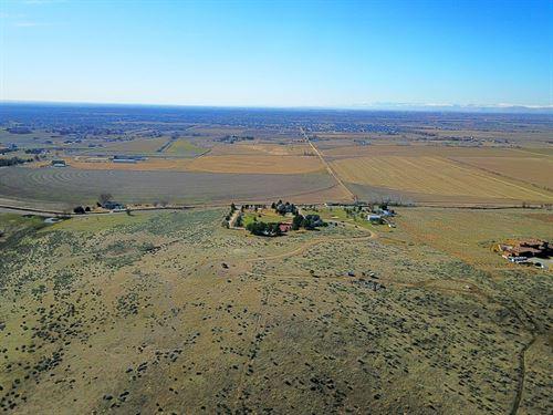 Private 5 Acre Building Lot North : Eagle : Ada County : Idaho