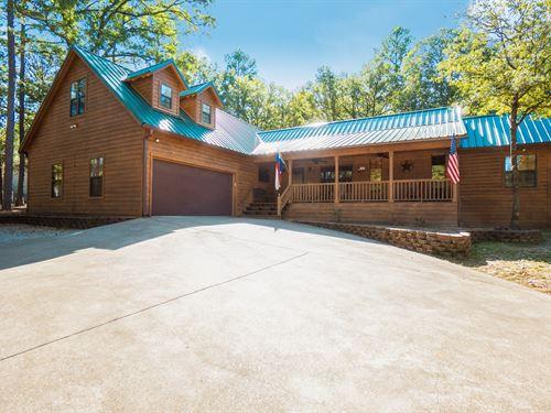 Country Home, Holly Lake Ranch : Holly Lake Ranch : Wood County : Texas