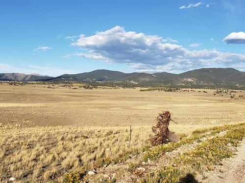 5.56 Acre Rolling Hills & Mountains : Hartsel : Park County : Colorado