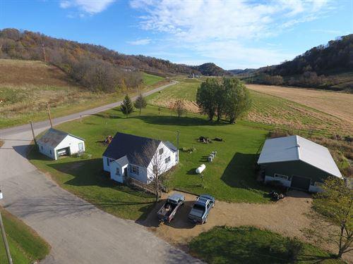 Country Home Hobby Farm SW : Hillsboro : Vernon County : Wisconsin