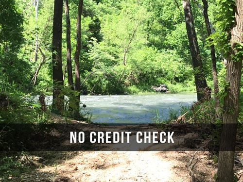 $500 Down On 10 Acres On River : Lebanon : Laclede County : Missouri