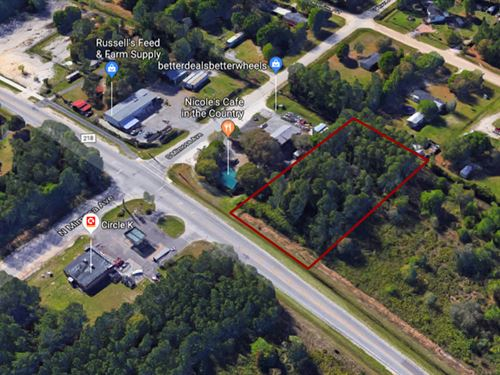 4493 Cr 218, Commercial Land : Middleburg : Clay County : Florida