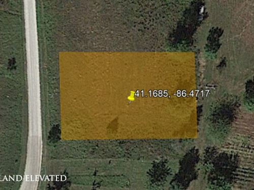 Land Lover's Location, 0.23 Acres : Monterey : Pulaski County : Indiana
