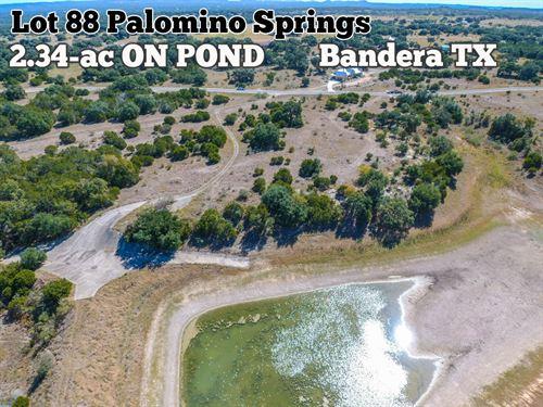 2.34 Acres in Bandera County : Bandera : Texas