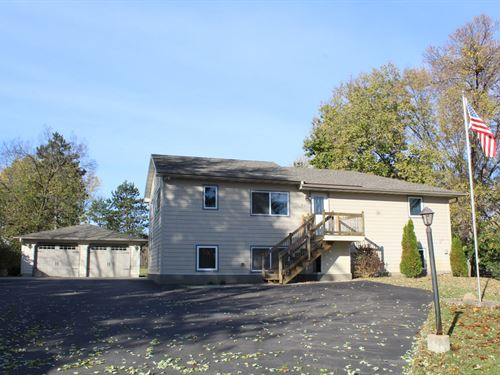 3Br/2Ba Home Mississippi River : Otsego : Wright County : Minnesota