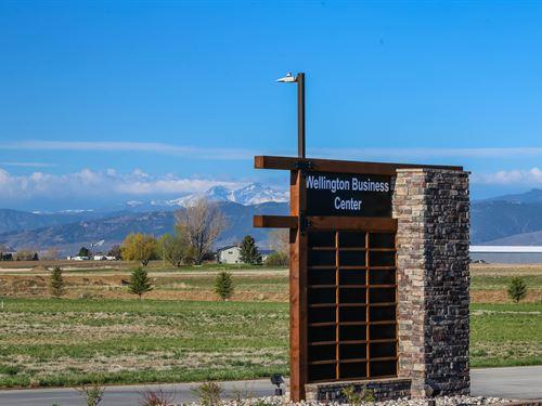 Commercial Land & Building Lot 7 : Wellington : Larimer County : Colorado