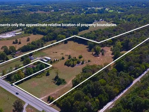 Prime Commercial Acreage Chapel : Chapel Hill : Marshall County : Tennessee