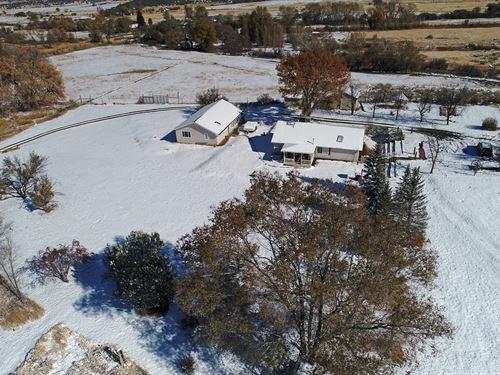 Home Acreage, Irrigation Pond Colo : Mesa : Colorado