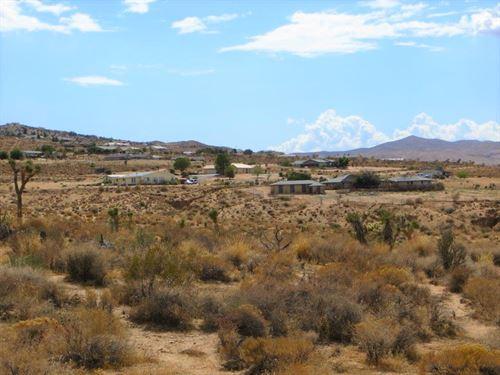 Amazing Lot, Apple Valley Highlands : Apple Valley : San Bernardino County : California