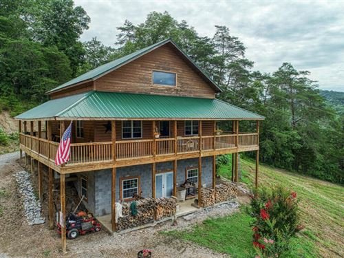 Custom Built Home Must See : Sneedville : Hancock County : Tennessee
