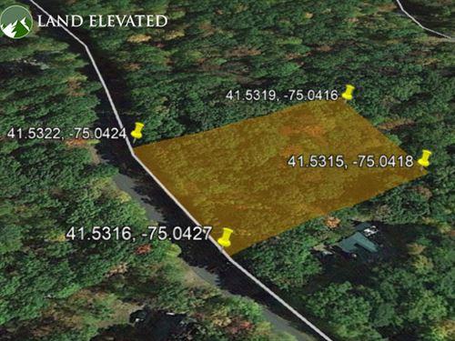 1.15 Acres of Peaceful Property : Lackawaxen Township : Pike County : Pennsylvania