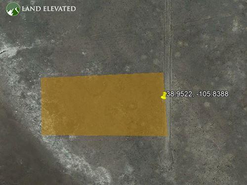 5.03 Acres of Mountain View : Hartsel : Park County : Colorado