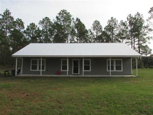 3 BR 2 BA Home Located on 5 Acres : Norman Park : Colquitt County : Georgia