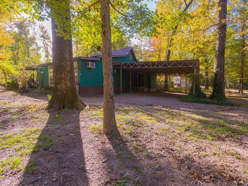 East TX House Avinger TX Lake : Avinger : Marion County : Texas