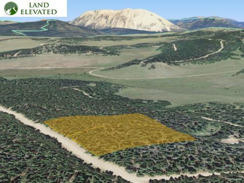 Perfect Property For Mountain Home : Fort Garland : Costilla County : Colorado