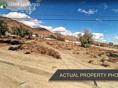 Property Near Manly Peak : Searles Valley : San Bernardino County : California