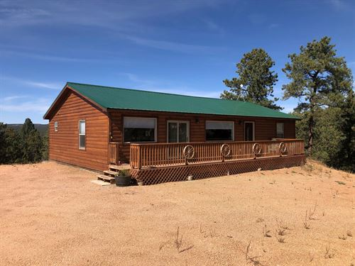 Beautiful Country Home Pikes Peak : Florissant : Teller County : Colorado
