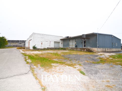 Industrial Acreage & Buildings : Stephenville : Erath County : Texas