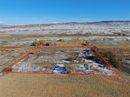 Hobby Farm Irrigation, 2 Parcels, 2 : Delta : Colorado