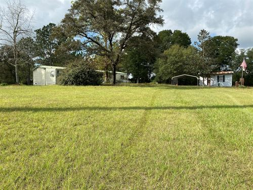 3Br/2Ba on 5 Acres For Sale : Lake City : Suwannee County : Florida