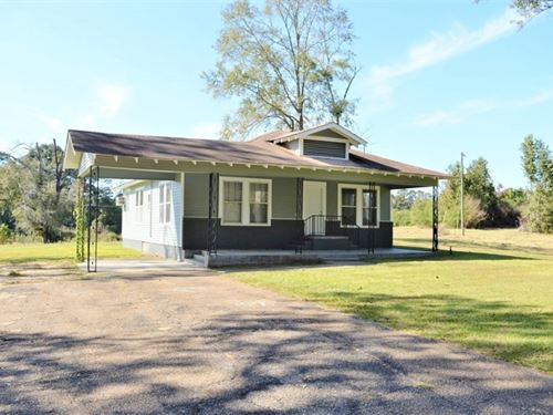 3 Bed/2 Bath House With Land For Sa : Summit : Pike County : Mississippi