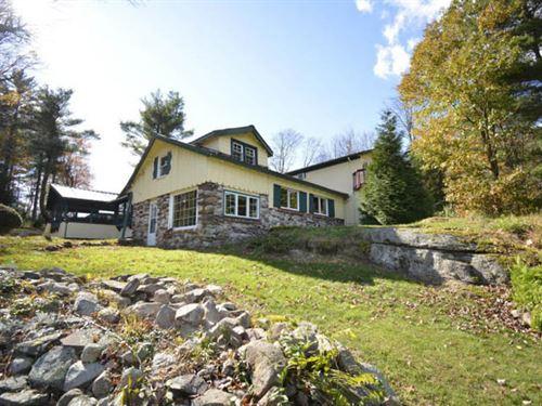 Home With 11 +/- Acres of Wildlife : Benton : Columbia County : Pennsylvania