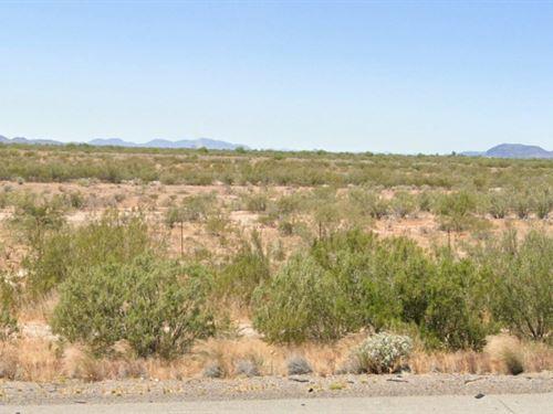 Gorgeous Mountain Sunrises in AZ : Eloy : Pinal County : Arizona