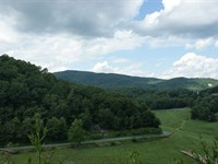 High Elevation 5 +/- Acres, Views : Independence : Grayson County : Virginia