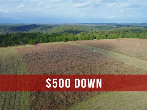 $500 Down 6 Acres at Bryant Creek : Ava : Douglas County : Missouri