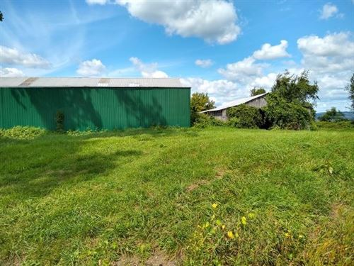Home Site With 2 Barns : Fort Plain : Montgomery County : New York