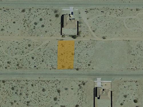 9,147 Sqft Raw Land, Power : Salton City : Imperial County : California