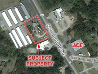 1 AC Commercial Lot For Sale : Milledgeville : Baldwin County : Georgia