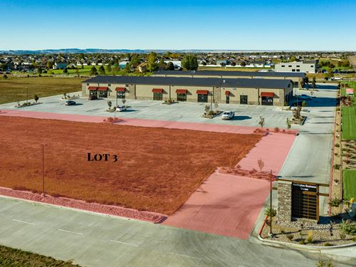 Commercial Land & Building Lot 3 : Wellington : Larimer County : Colorado