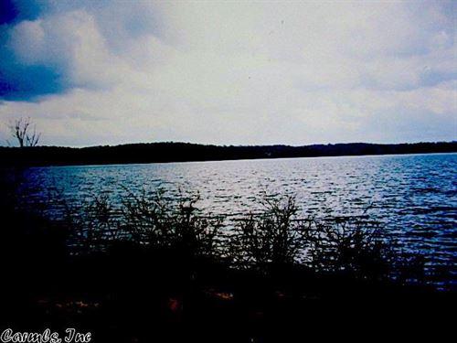 Rare Lakefront Acreage With A View : Shirley : Van Buren County : Arkansas