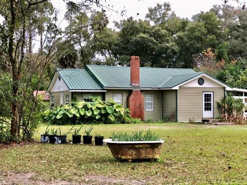 3/1 Remodeled Home 1.66 Acres : Trenton : Gilchrist County : Florida