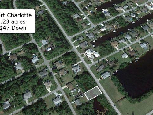 .23 Acre Close to Myakka River : Port Charlotte : Charlotte County : Florida