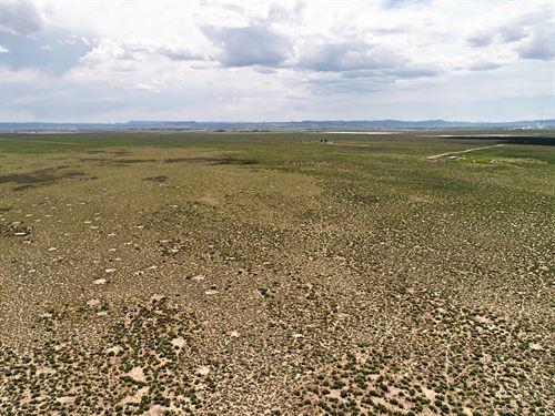 Big Utah Skies and Land O' Plenty : Beryl : Iron County : Utah