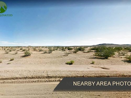 Almost 2 Acres of Land in Kern, CA : California City : Kern County : California
