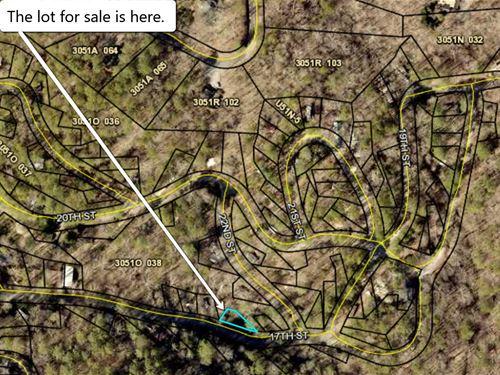 RV Lot In Coosawattee River Resort : Ellijay : Gilmer County : Georgia