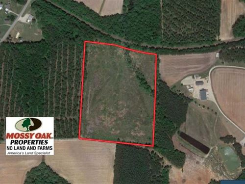 18.7 Acres of Residential Land : Middlesex : Nash County : North Carolina