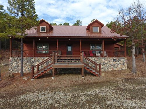 Income Producing Recreational Cabin : Tuskahoma : Latimer County : Oklahoma