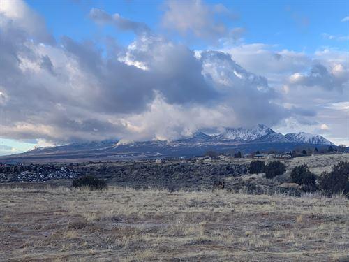 Lot Mountain/Valley Views Cortez : Cortez : Montezuma County : Colorado