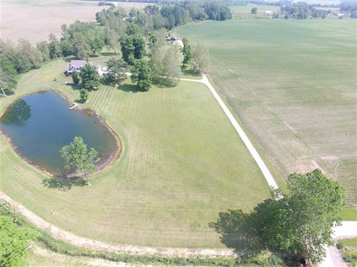 5 Acre Building Site, Pond, Libe : Parker City : Delaware County : Indiana