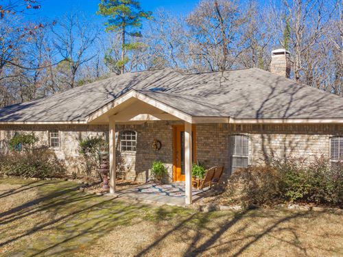 Country Home East Texas 4 Wooded : Hawkins : Wood County : Texas