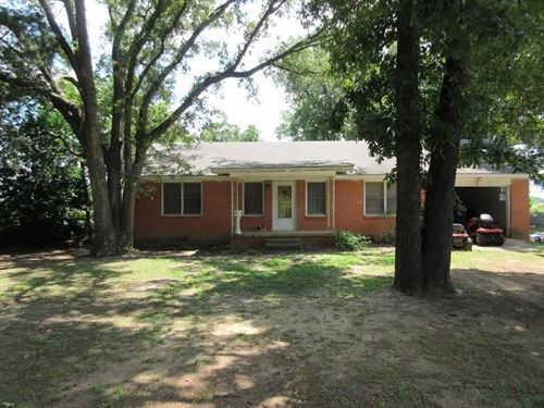 House And Acreage In East Texas : Palestine : Anderson County : Texas