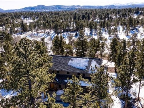 Mountain Living Private Community : Red Feather Lakes : Larimer County : Colorado