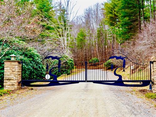 Lot in Gated Community w Utilities : Zionville : Ashe County : North Carolina