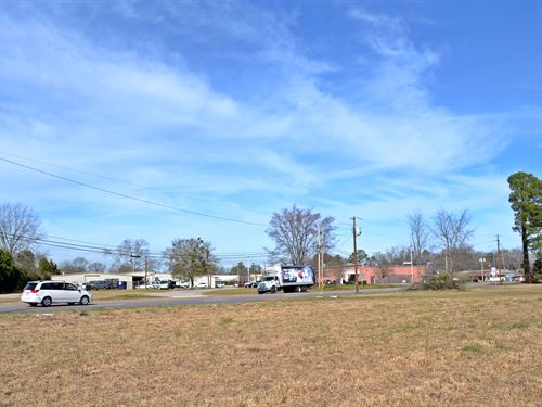 Cheraw SC Commercial Acreage : Cheraw : Chesterfield County : South Carolina