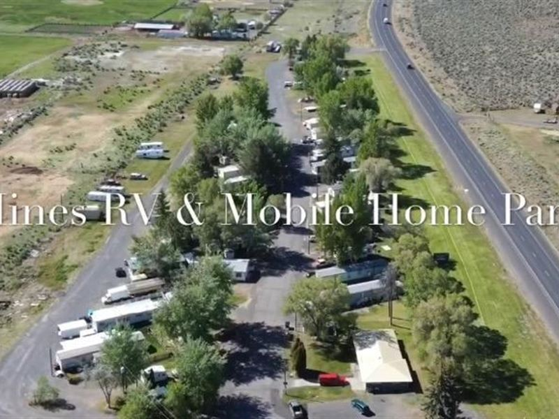 Hines Rv & Mobile Home Park : Hines : Harney County : Oregon