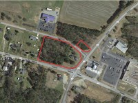 Commercial Lot in Prime Location : Roanoke Rapids : Halifax County : North Carolina